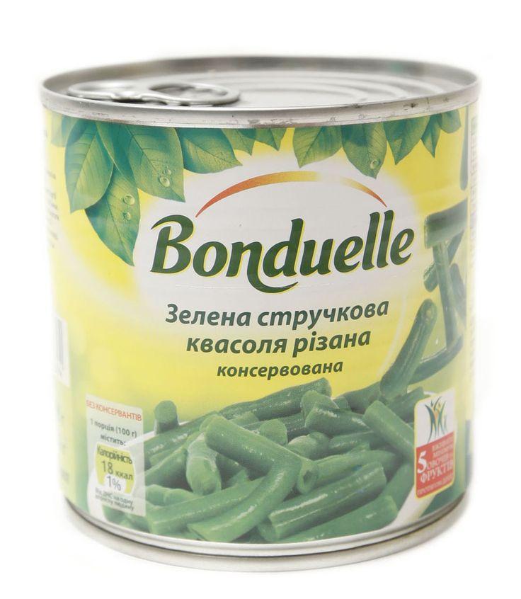 Стручковая зеленая фасоль салаты