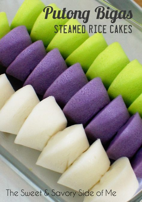 Steamed Rice Cakes (Putong Bigas)