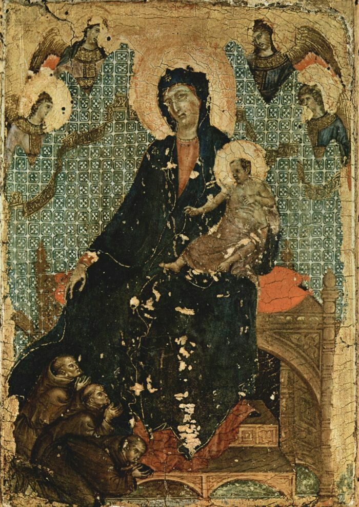Madonna dei Francescani. 1300. Pinacoteca Nazionale