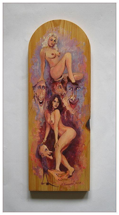 Fairy tales for the adults,  Nude, Krzysztof Lozowski