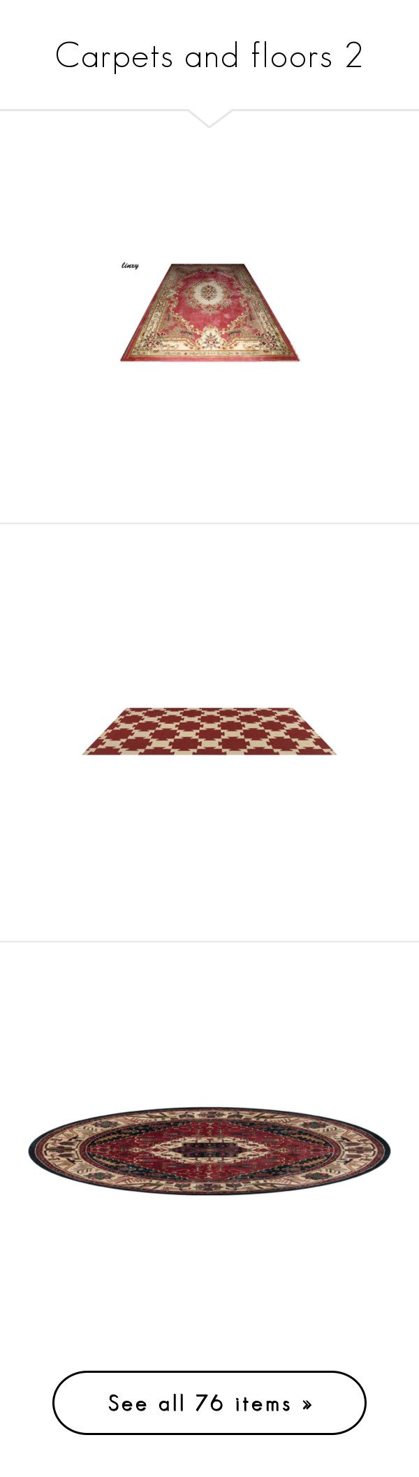"""""""Carpets and floors 2"""" by lynxe ❤ liked on Polyvore featuring rugs, carpet, filler, home, tapetes, hand woven area rugs, hand-loomed rug, flatweave rugs, flat weave rugs and hand woven rugs"""