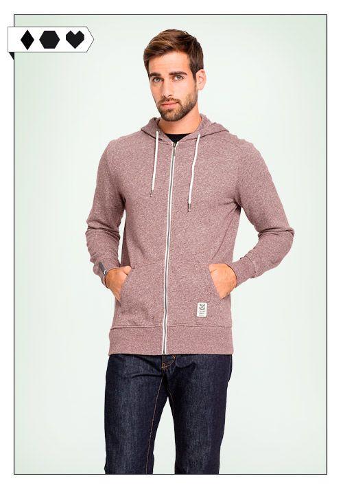 Recolution Zipper Flamé: Der recolution Zipper für Männer ist aus 100% Bio Baumwolle / Organic Cotton und fair produziert in Europa. Vegan Eco Social!