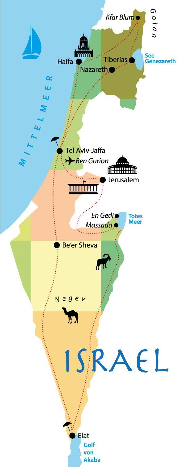 Israel Rundreise Individuell Tipps: die beste Route, Übernachten im Kibbuz