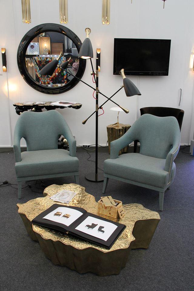 Decorex International London UK BRABBU Trade Show Interior Design