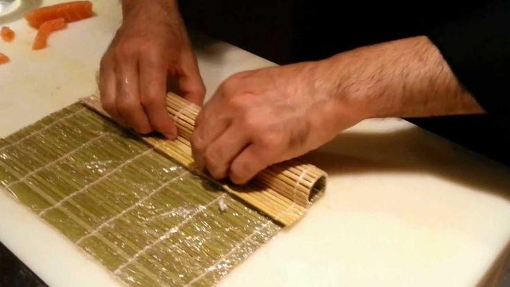 Cómo hacer Maki Sushi por David Juarez de Restaurante Tsunami
