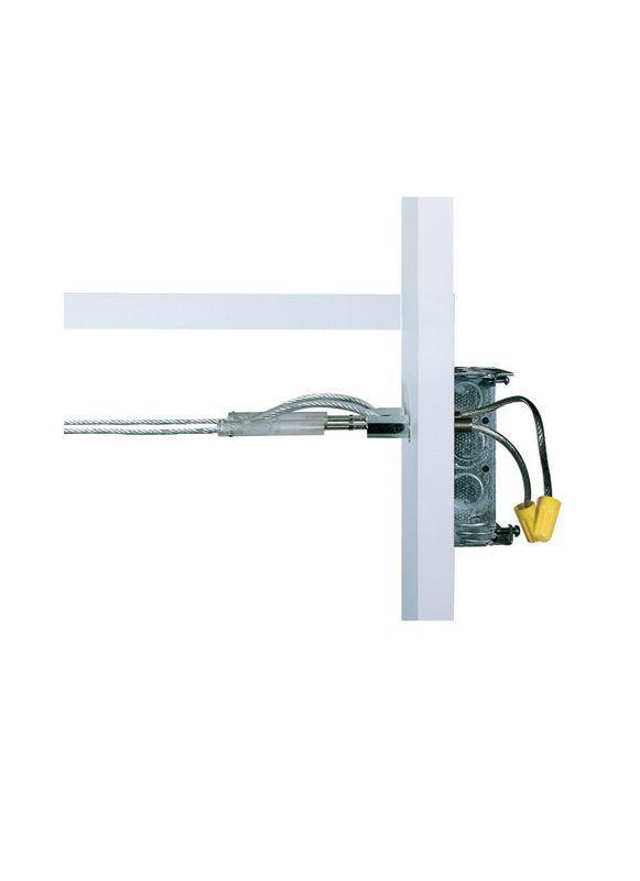 Tech Lighting 700PRC14 Kable Lite Power Feed Turnbuckles Satin Nickel Indoor Lighting Track Lighting Accessories