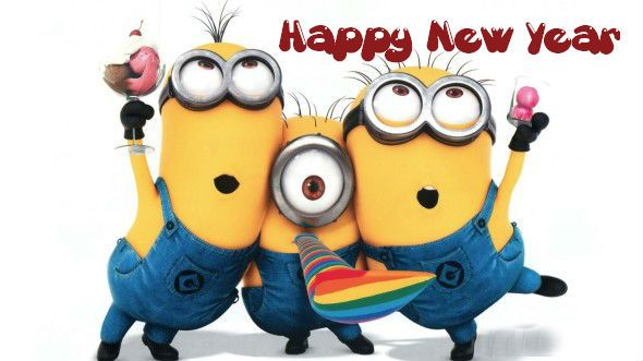 ◄ Happy New Year! ► From the Minions (182)
