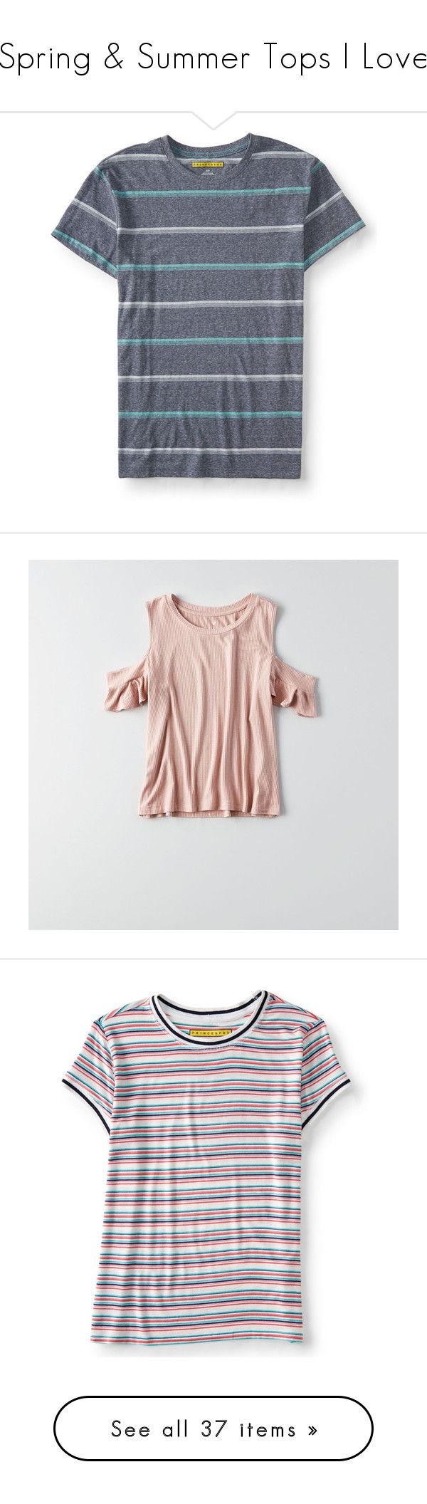 """""""Spring & Summer Tops I Love"""" by meredith-gomes on Polyvore featuring men's fashion, men's clothing, men's shirts, men's t-shirts, classic navy, mens navy blue t shirt, mens holiday t shirts, mens polyester t shirts, aeropostale mens shirts and colorful mens dress shirts"""