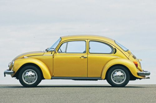 german-cars-after-1945 • 1974 VW Super Beetle...