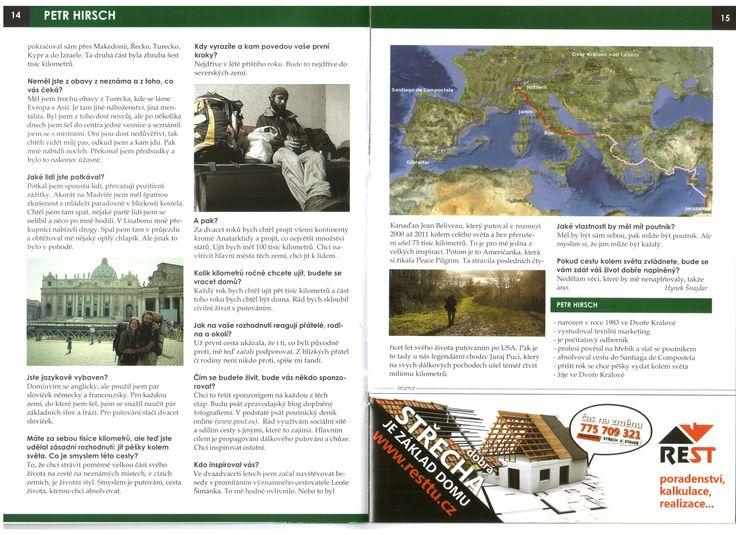 interview with Hynek Šnajdar for magasin Trutnovinky, August 2013, 2nd part  *  rozhovor s Hynkem Šnajdarem pro magazín Trutnovinky, srpnové vydání 2013, 2. část