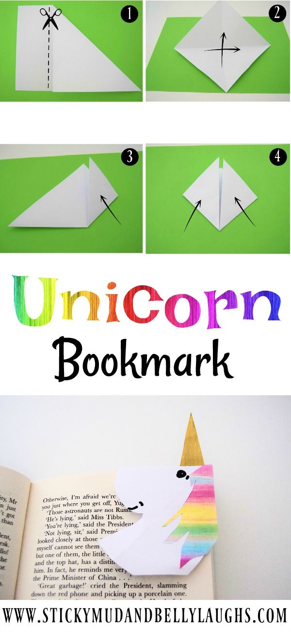 The craft box is open again and this week we are doing 5 minute crafts! We have been making a Unicorn bookmark, come and check it out!