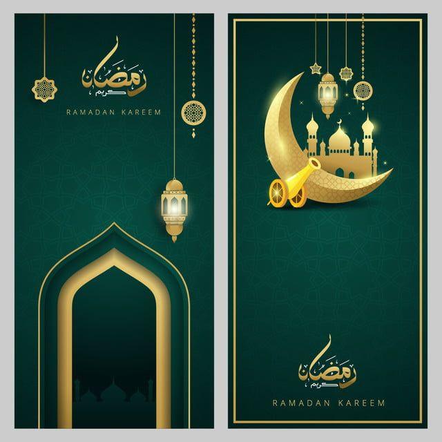 Ramadan Kareem Islamic Greeting Card Template Design Ramadan Kareem Ramadan Greeting Card Template