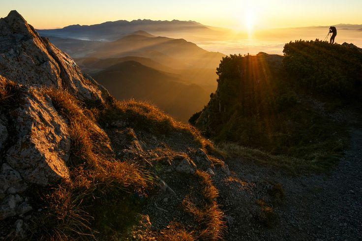 Would you like to try this yourself?   #slovakia #mountains #hiking  500px / In the Morning Light by Martin Vaculík