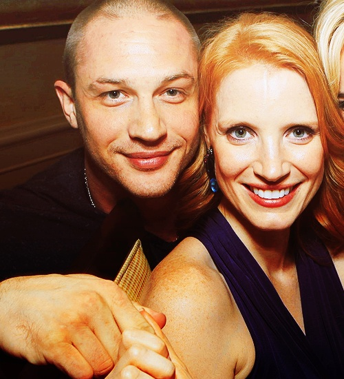 tom hardy and jessica chastain - can't wait to see them work together.