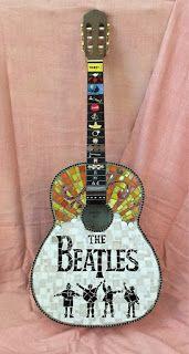 Beatles Guitar Mosaic
