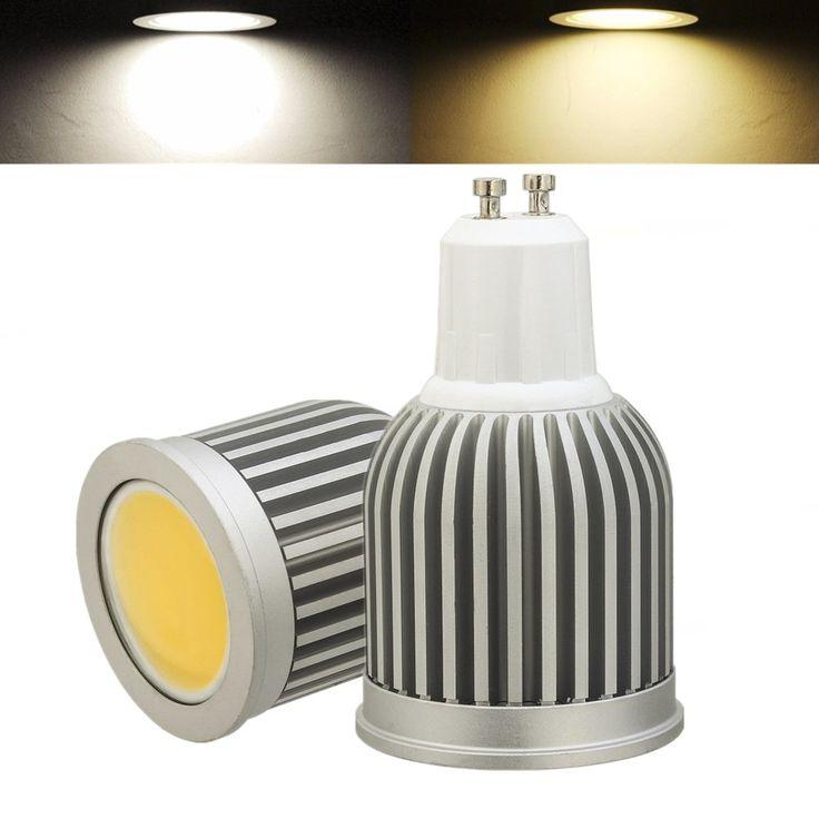 3W 5W 7W GU10 LED COB Spot Ampoule intérieure Home Lamp Decoration AC85-265V