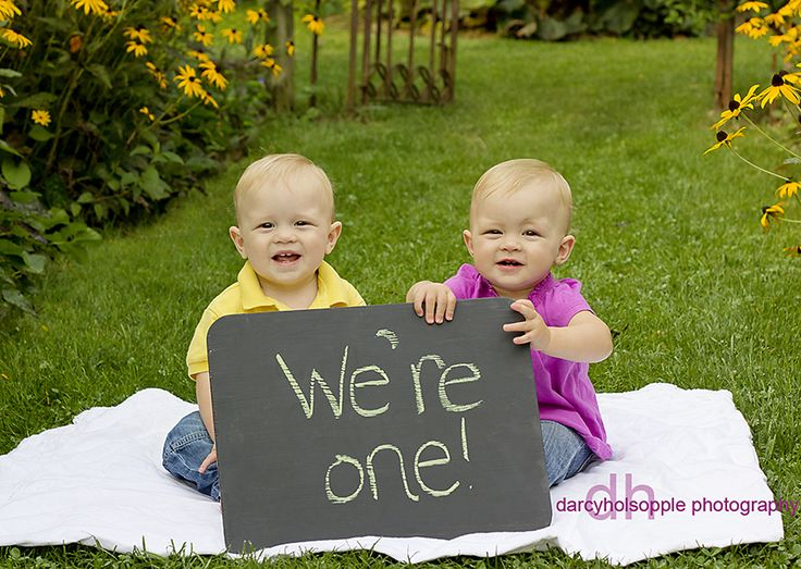 darcy holsopple photography: Twin 1 year old session...