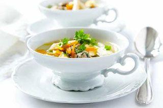 Consommé de légumes aux saveur Dominicaines #potage #soupe #detox