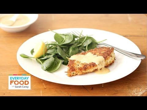Parmesan Crusted Chicken Recipe Everyday Food With Sarah