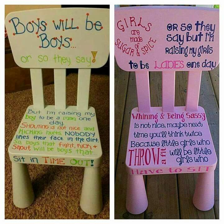 This is cute but a new way of doing 'time-out' for the kids (;