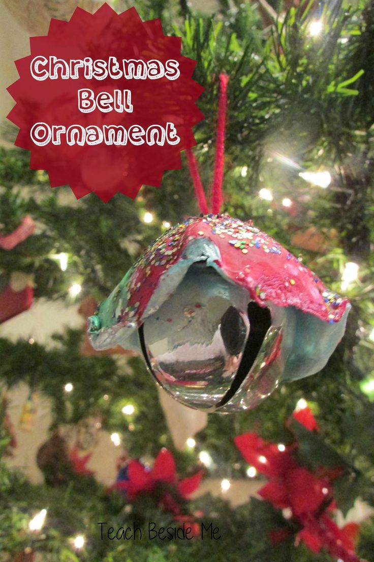 Personalized ornaments for kids - Christmas Bell Ornaments