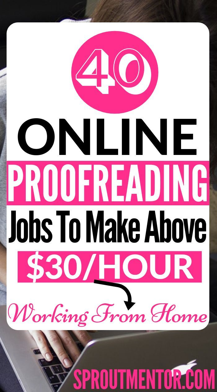 40 Online Proofreading Jobs For Beginners Hiring Now You Can Easily Make More Than 12 Per Hour And Still Proofreading Jobs Jobs For Teens Work From Home Jobs