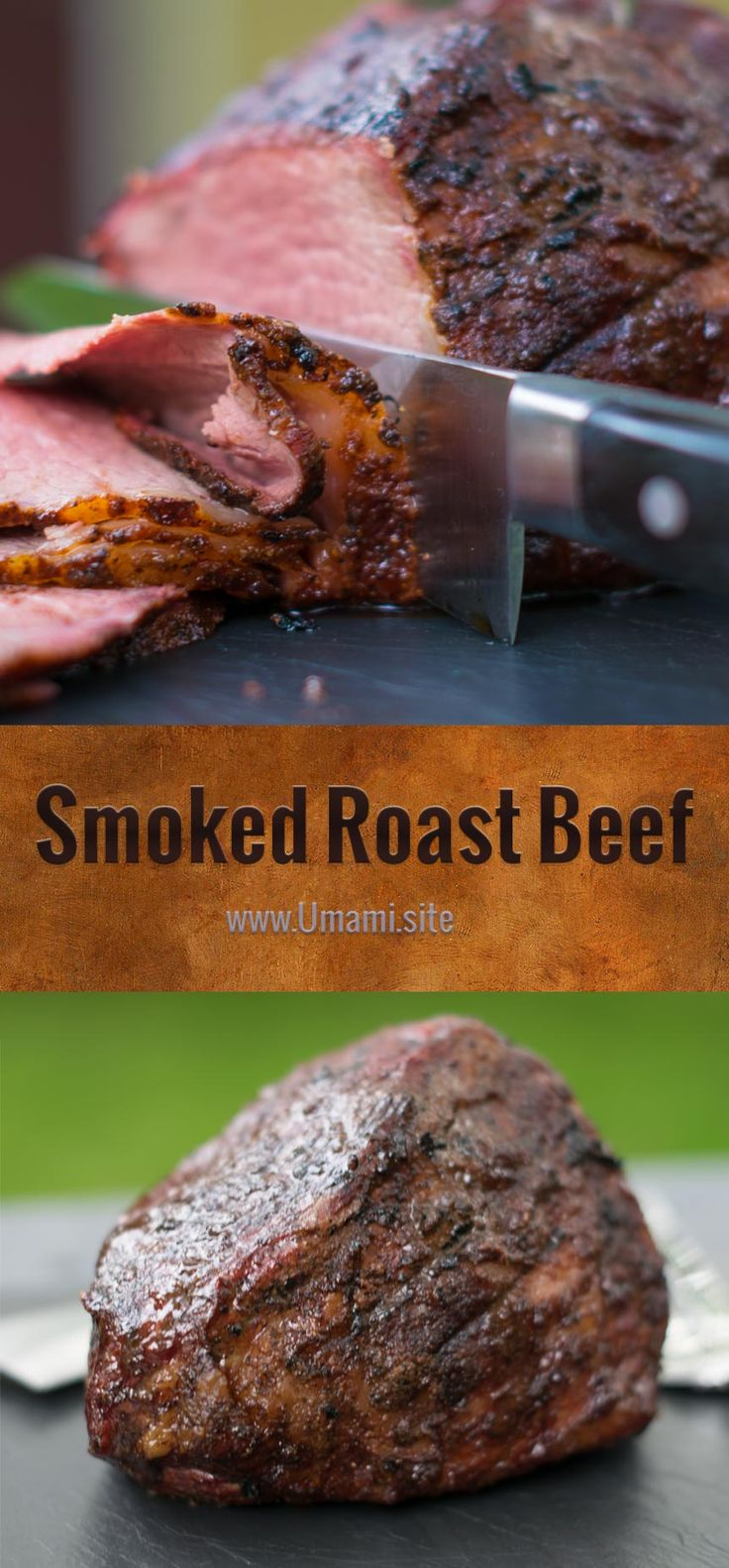 We love great roast beef sandwiches, which seem harder and harder to find by the day. We also love slow-cooked, beef roasts with a deep smoky flavor. Smoking a beef roast over low heat produces delicious flavors and a roast with a soft, juicy texture that melts in your mouth.