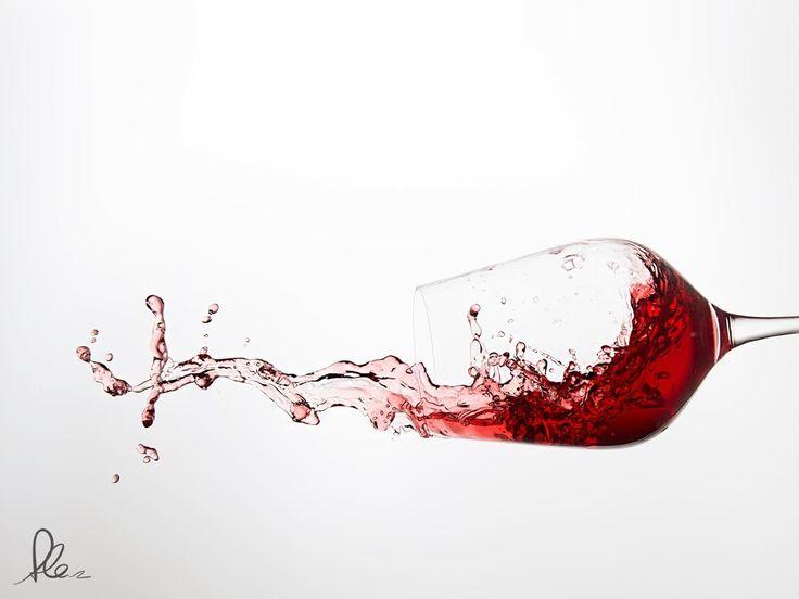 Wein Explosion- Das Wein-Splash-Shotting