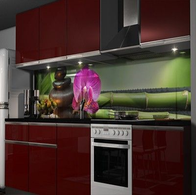 375 best Küche images on Pinterest Kitchen ideas, Kitchen modern - plexiglas für küchenwand