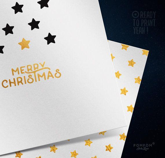 Carte de voeux À IMPRIMER Carte de noël carte de voeux joyeux noel imprimable Enveloppe DIY étiquettes cadeaux noir étoile or  Carte de voeux carrée deux volets + enveloppe + étiquettes cadeaux à monter inclus TÉLÉCHARGEMENT NUMÉRIQUE INSTANTANÉ 1 FICHIER ZIP contenant PDF et jpg 300 DPI  À noter : - Les couleurs peuvent varier selon l'écran, le papier utilisé ou l'imprimante - Il sagit dun achat numérique, aucun envoi postal  MODE DEMPLOI  - Choisissez votre fichier, et après lachat vous…