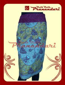 Rok Batik Variasi Lurik