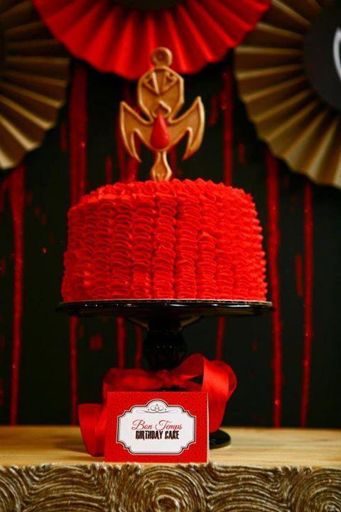 Animi Birthday Cake