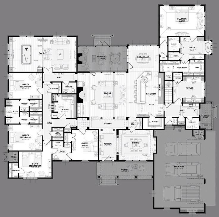 * Other than this being a huge house, I wouldn't change much about it. This is a dream