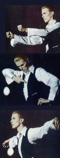 This is as far as dancing goes on the Station to Station Tour
