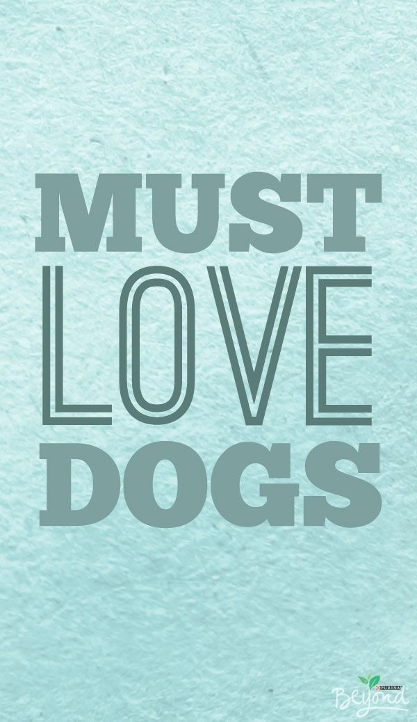 If you love me, you've gotta love my dog. #thinkbeyond  #commissioned #cutedogquote