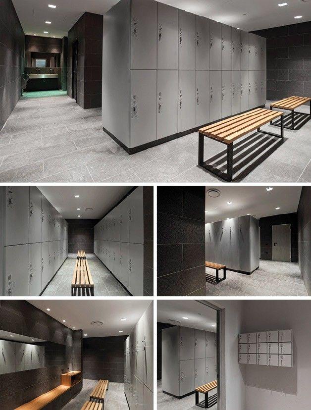 Reception desks, Reception desk, Gym lockers, Gym locker, Storage lockers, Storage locker by GRUPPO P
