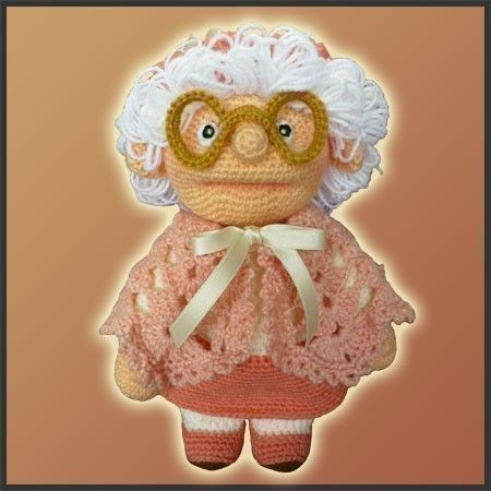 Amigurumi Crochet Pattern - Granny i HAVE THIS PATTERN, EXCELLENT SELLER ON ETSY.