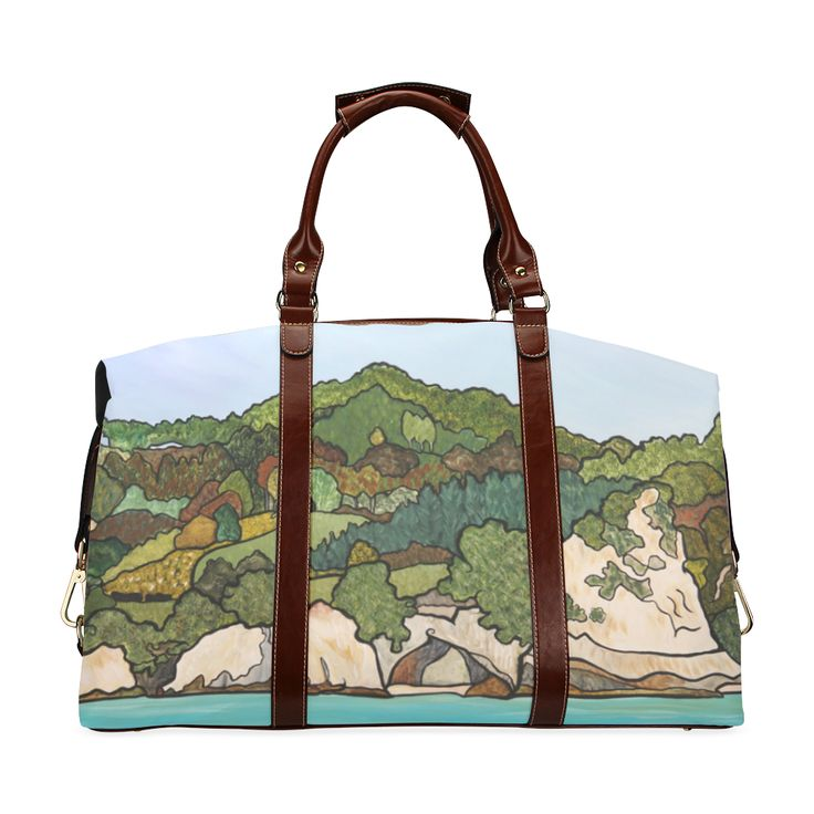 Cathedral Cove Classic Travel Bag (Model 1643) Remake
