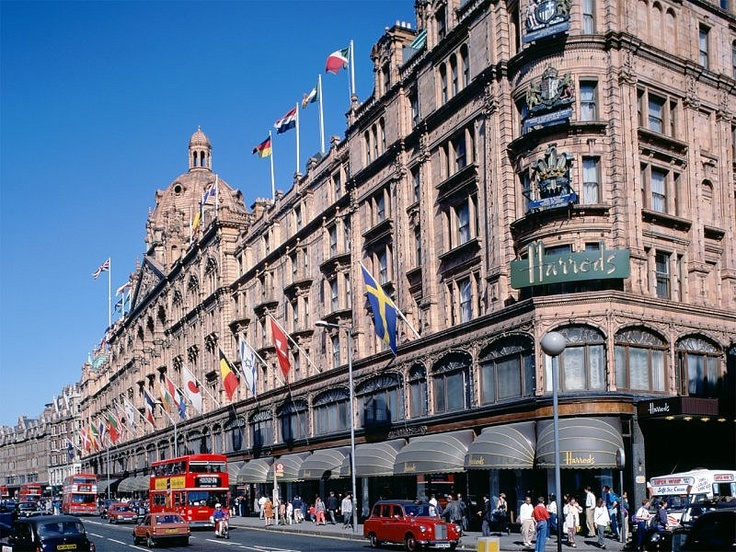 Harrods in London.  Some crazy stuff in there! I have one of thier tote bags!