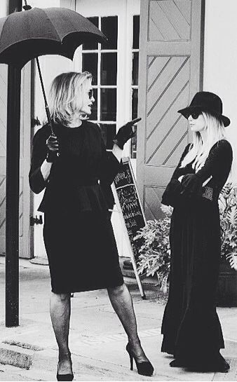 {Coven} {ahs} {Fiona Goode} {Madison Montgomery movie star}