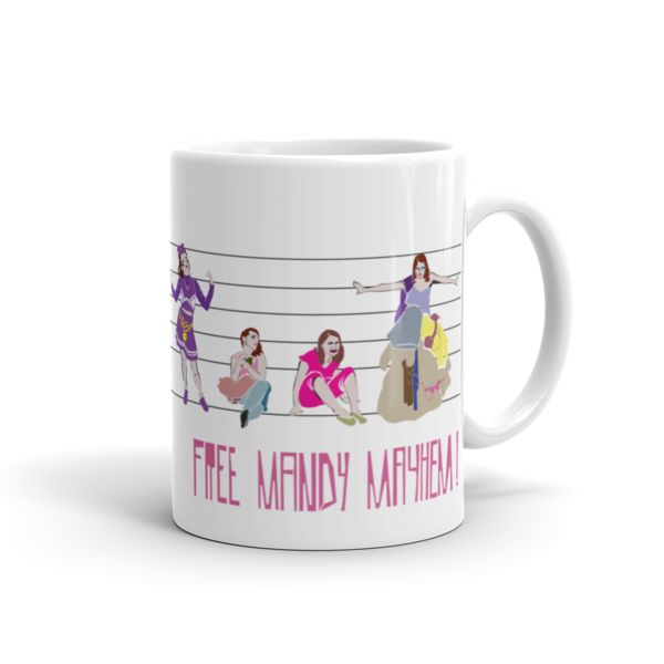 Free Mandy Mayhem Mug. Character designs from all episodes of TruTV's MUTHA series.