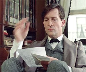 This really is one of my favorite moments of the whole series! Side parts are just coolest thing and Jeremy Brett shows you just how to make the right use of them.