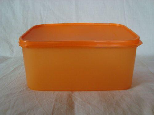 Tupperware Kuchenbehälter viereckig orange Behäter Keksdose Neu | eBay