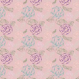 Rose embroidery  by artbynikitajariwala at zippi.co.uk