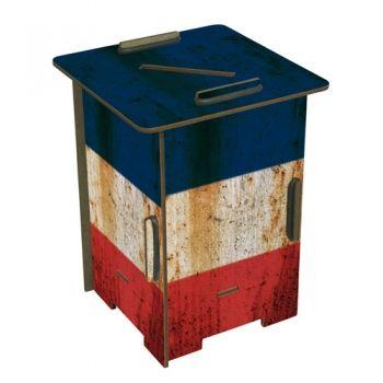 """Werkhaus Shop - Twinbox - 150 """"Flagge Frankreich"""""""