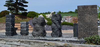 Kamenné fontány