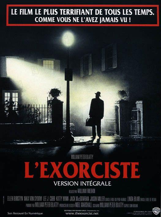 L'Exorciste est un film de William Friedkin avec Linda Blair, Ellen Burstyn. Synopsis : En Irak, le Père Merrin est profondément troublé par la découverte d'une figurine du démon Pazuzu et les visions macabres qui s'ensuivent.Parall