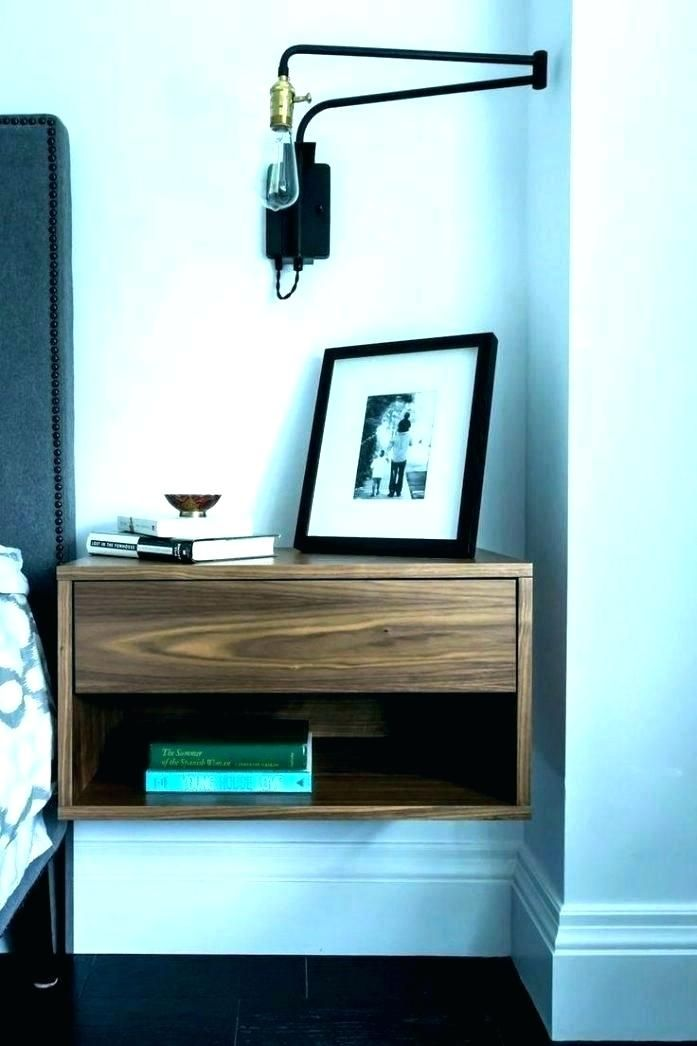 Wall Mounted Bedside Table Ikea