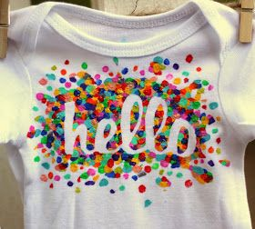 I went on a freezer paper stencilling bender recently. I had ordered a few new sets of onesies for Noa and lots of the packs came with a fe...