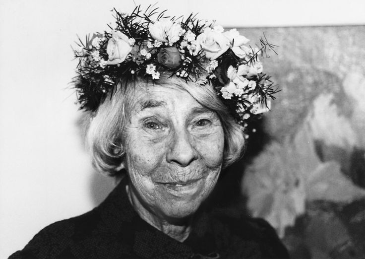 Tove Jansson ( 1914 – 2001) was a Swedish-speaking Finnish novelist & illustrator. For her contribution as a children's writer she received the Hans Christian Andersen Medal in 1966.